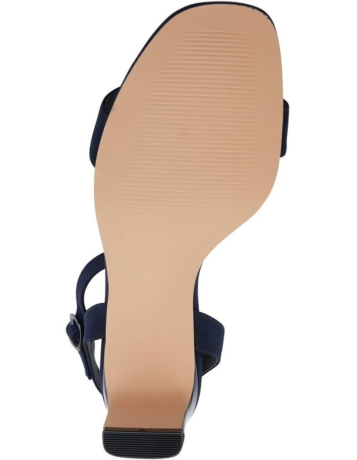 Unison Navy Fabric Sandal image 7