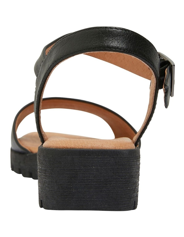 Georgie Black Glove Sandal image 5
