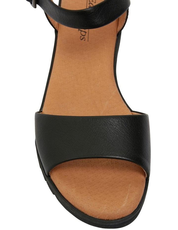 Georgie Black Glove Sandal image 6