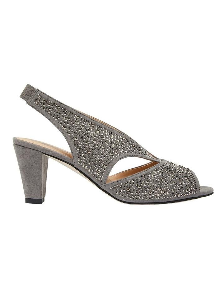 Angie Grey Fabric Sandal image 1