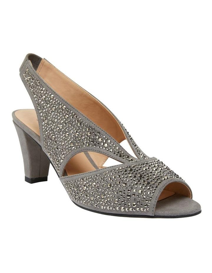 Angie Grey Fabric Sandal image 2
