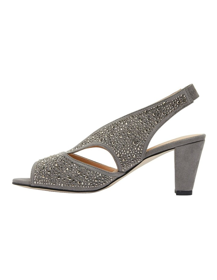 Angie Grey Fabric Sandal image 3