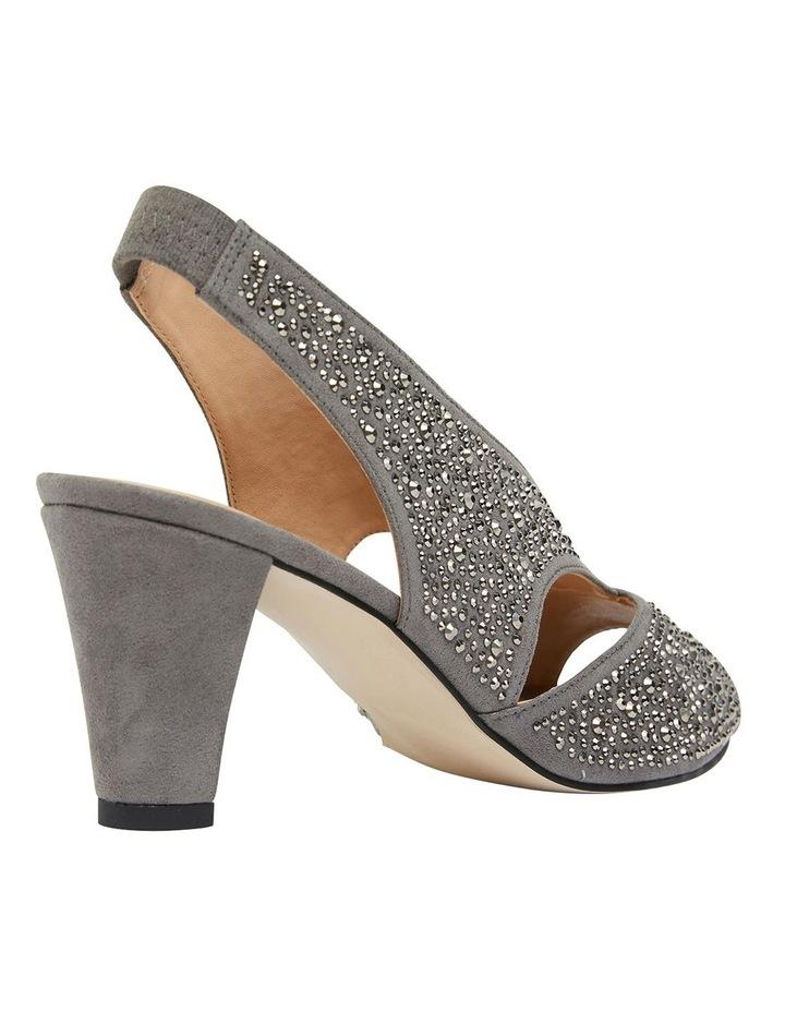 Angie Grey Fabric Sandal image 4
