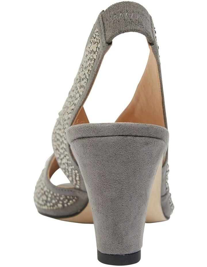Angie Grey Fabric Sandal image 5