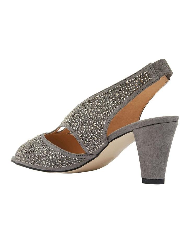 Angie Grey Fabric Sandal image 6