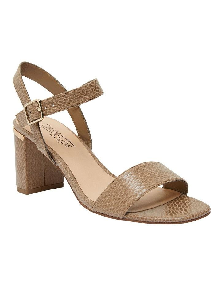 Uno Taupe Print Sandal image 2