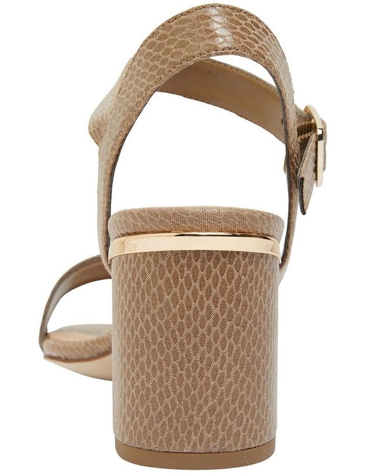 Uno Taupe Print Sandal image 5