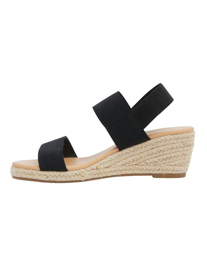 Sandy Elastic Wedge Sandal image 3