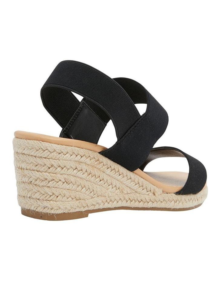 Sandy Elastic Wedge Sandal image 4