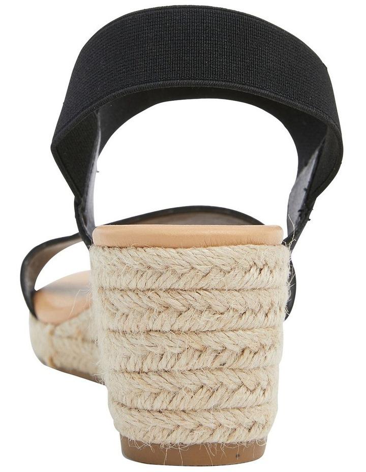 Sandy Elastic Wedge Sandal image 5