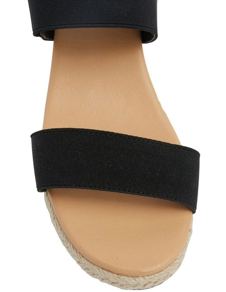 Sandy Elastic Wedge Sandal image 6