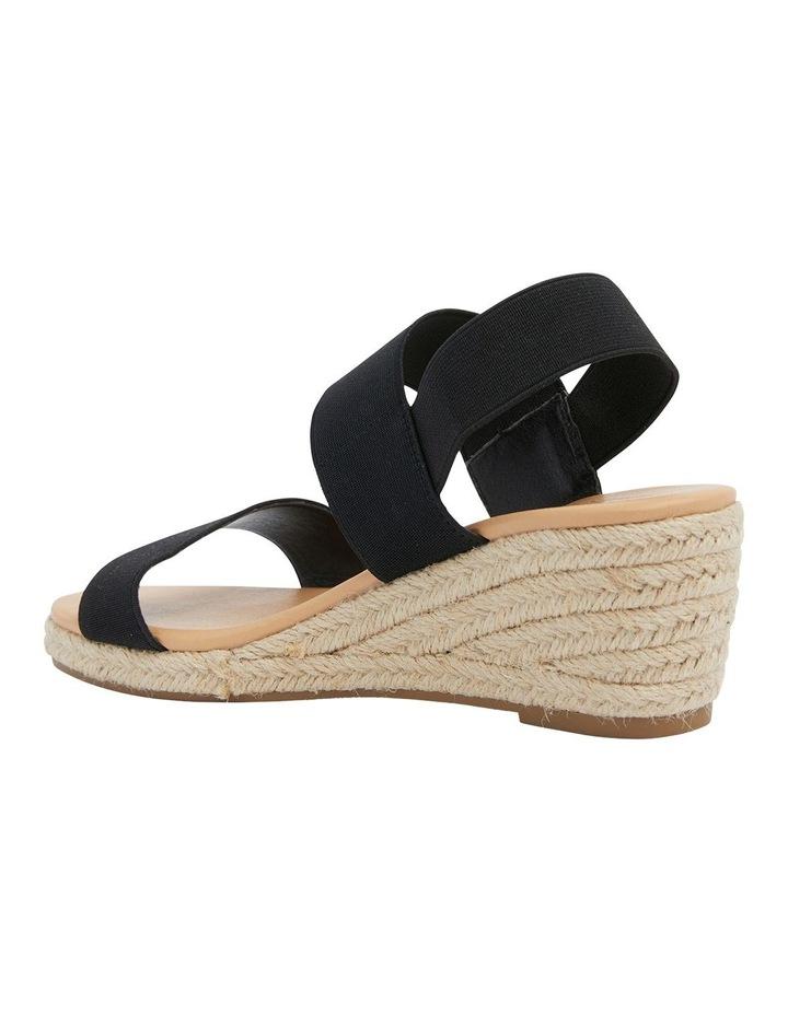 Sandy Elastic Wedge Sandal image 7