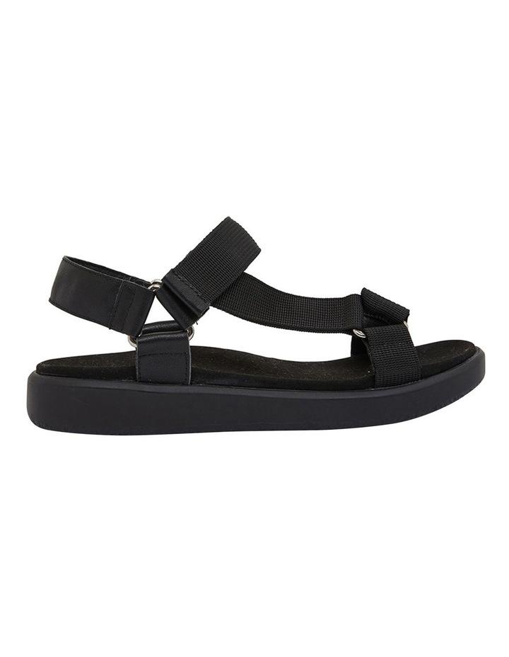 Farrow Black Flat Sandal image 1