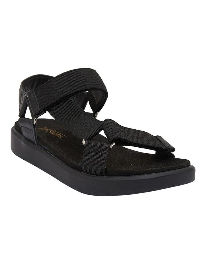 Farrow Black Flat Sandal image 2