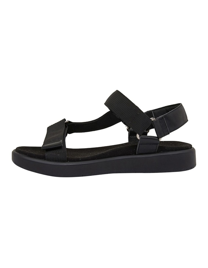 Farrow Black Flat Sandal image 3