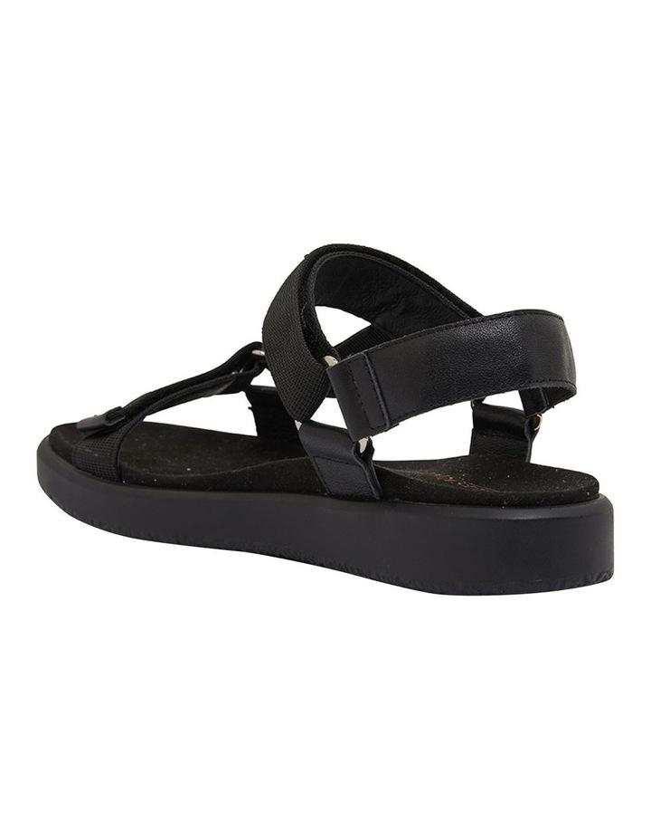 Farrow Black Flat Sandal image 4