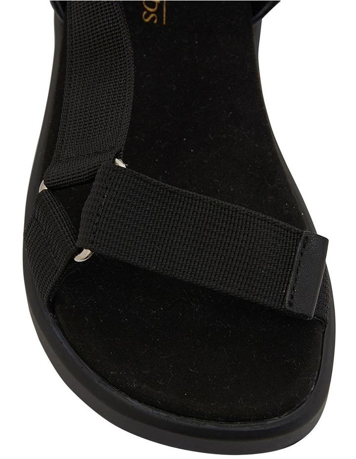 Farrow Black Flat Sandal image 5