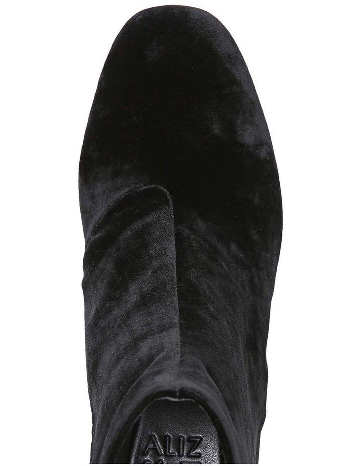 Westing Black Velvet Boot image 4
