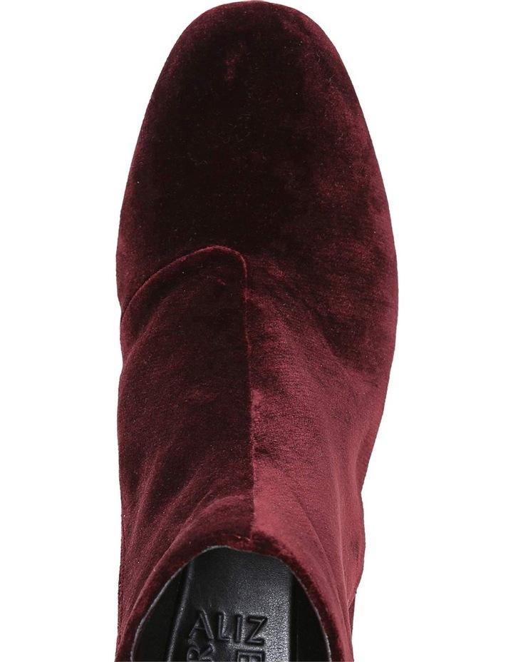 Westing Bordo Velvet Boot image 4