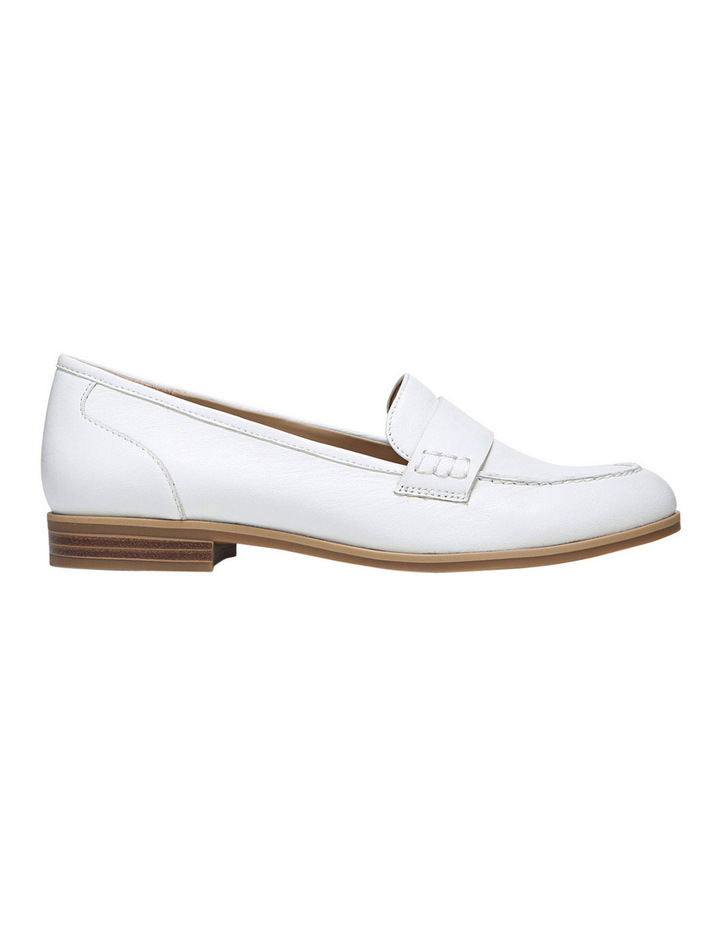 Veronica White Loafer image 1
