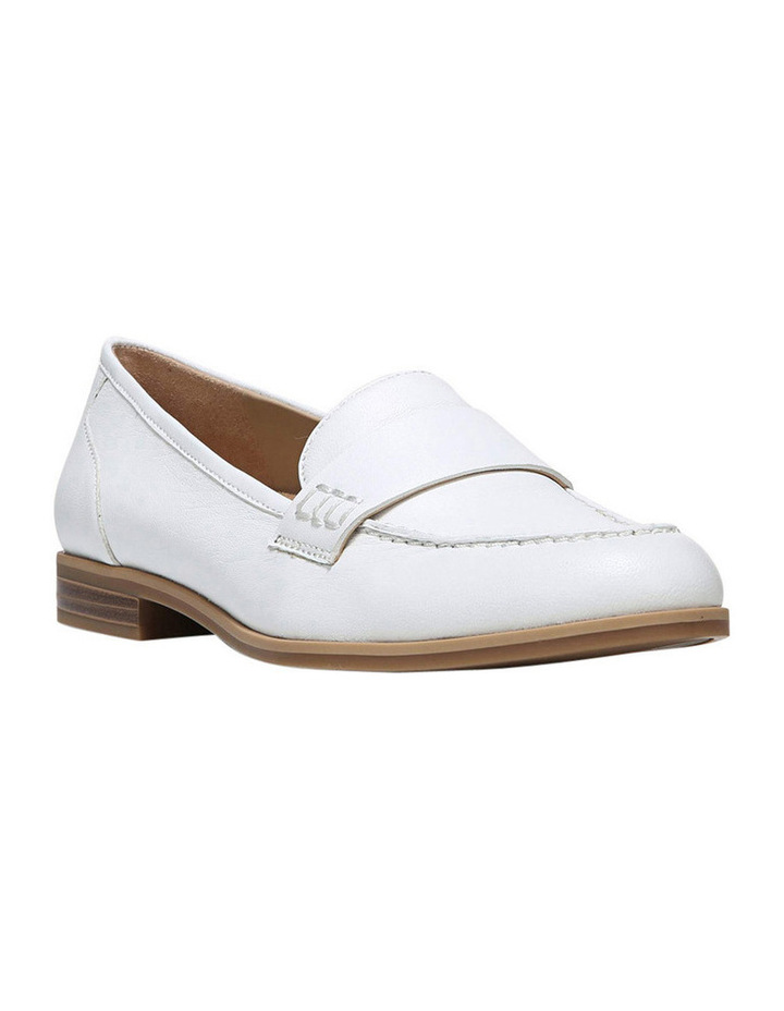 Veronica White Loafer image 2
