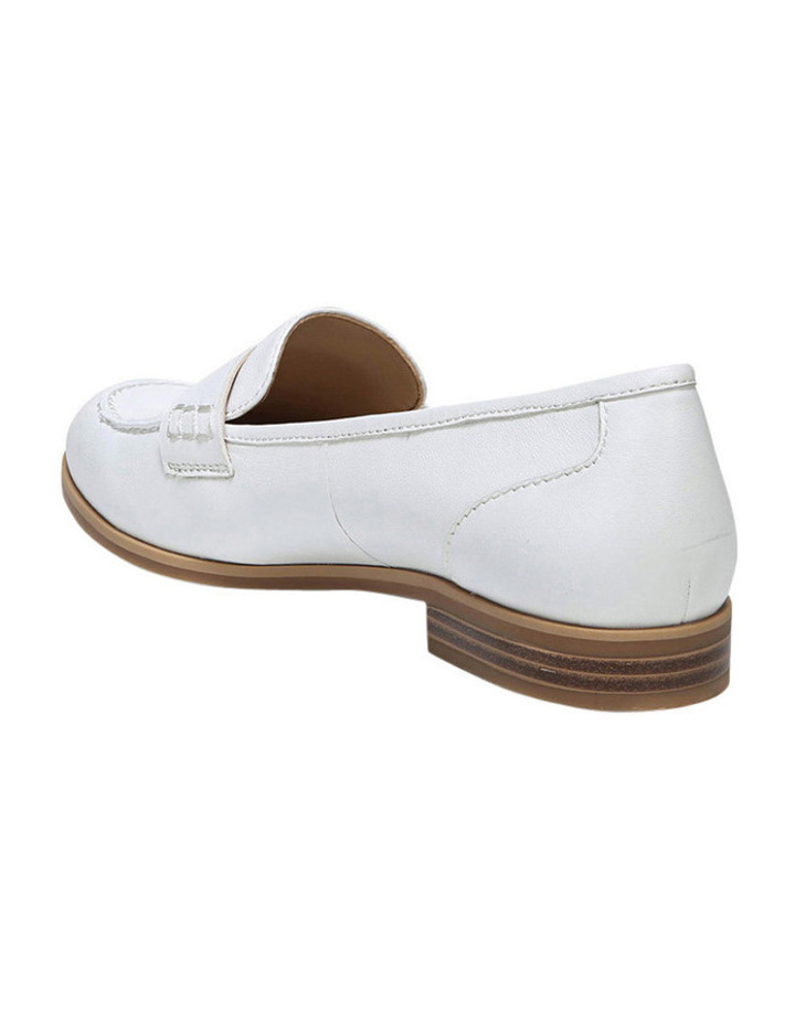 Veronica White Loafer image 3