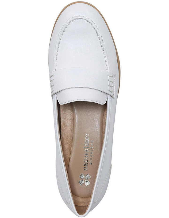 Veronica White Loafer image 4