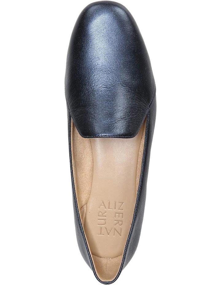 Emiline Navy Metallic Loafer image 4