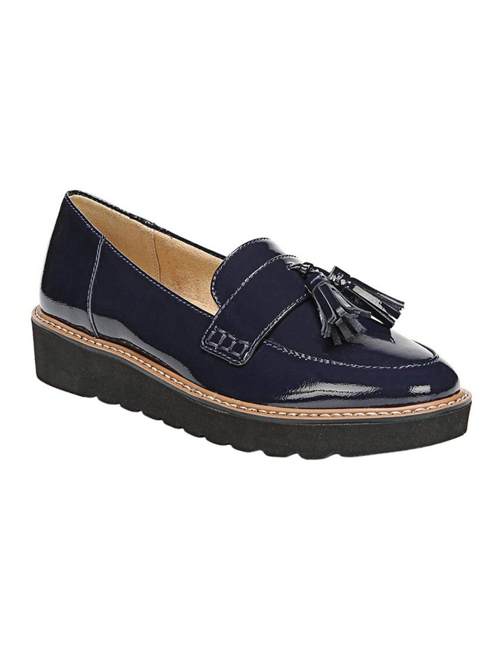 August Navy Patent Loafer image 2