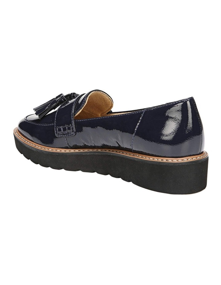 August Navy Patent Loafer image 3