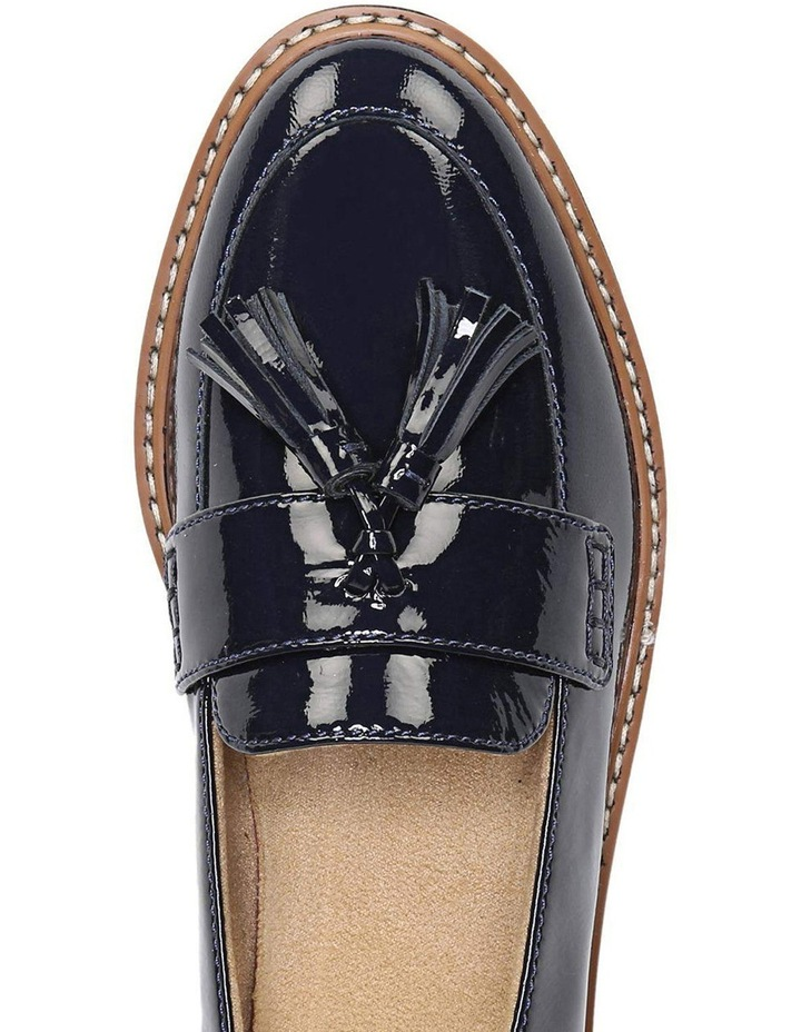 August Navy Patent Loafer image 4