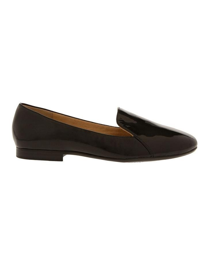 Emiline Black Patent Flat Shoe image 1