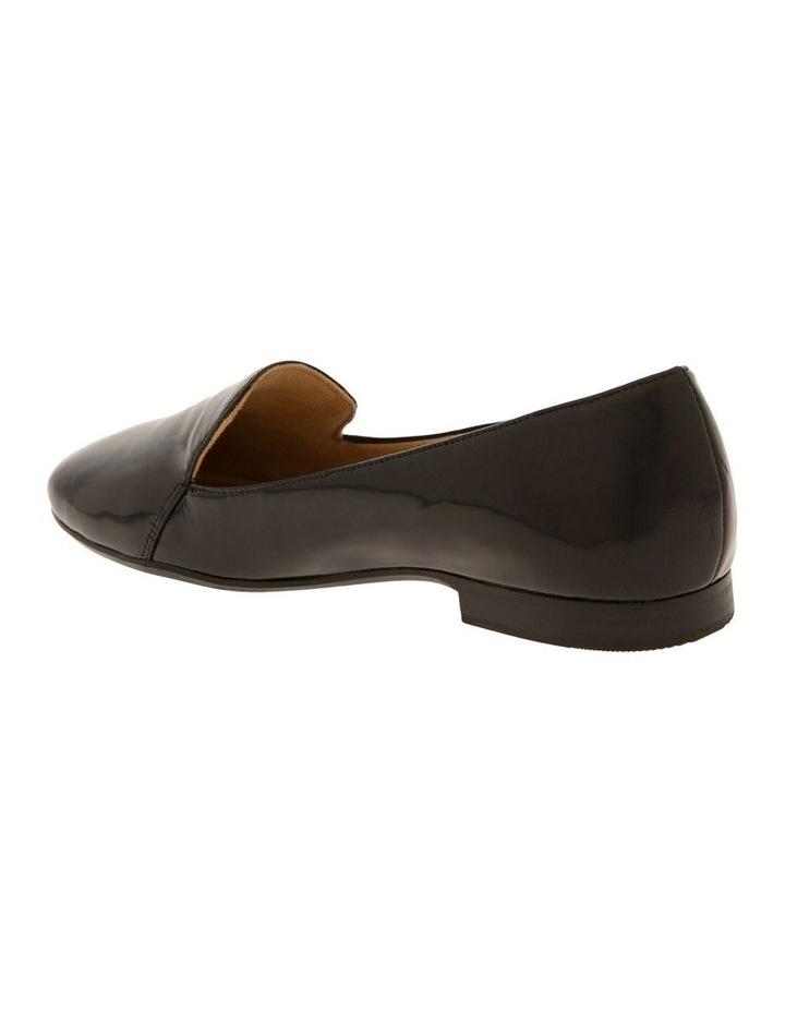 Emiline Black Patent Flat Shoe image 3