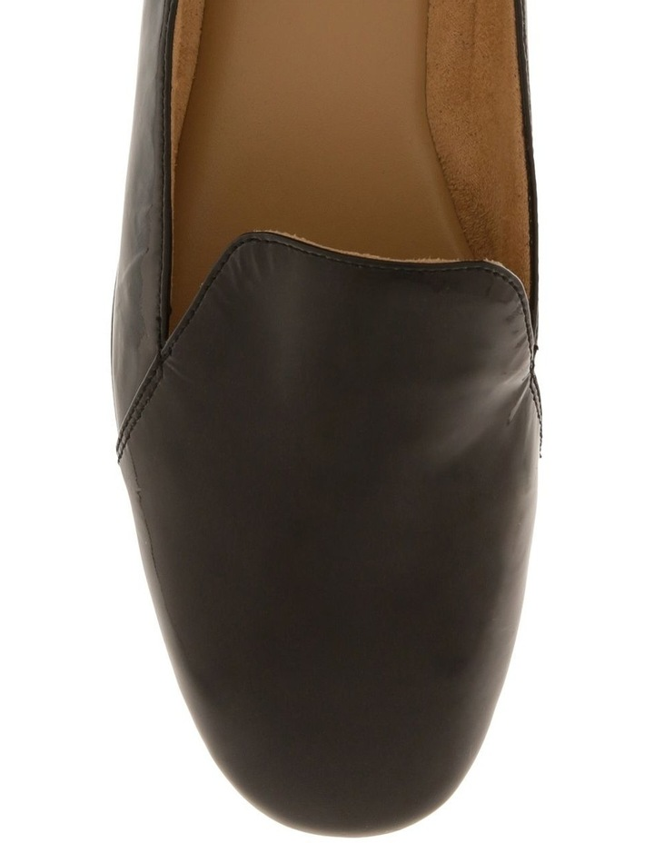 Emiline Black Patent Flat Shoe image 5