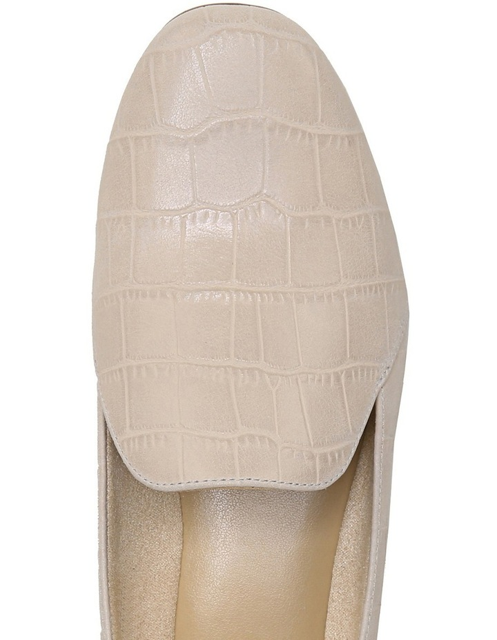 Emiline Soft Marble Croc Flat Shoe image 8