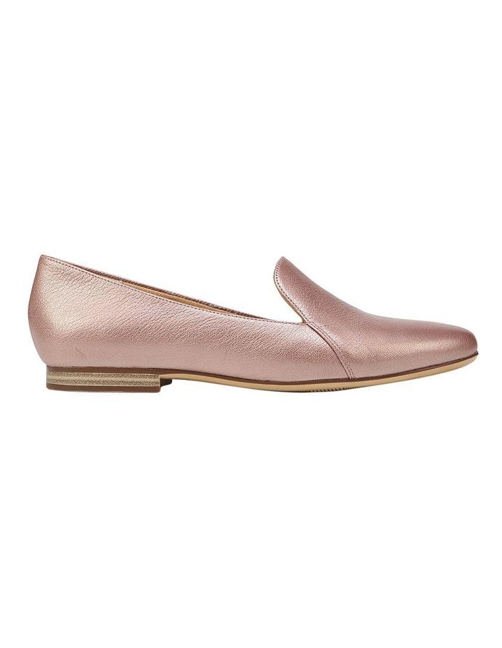 Emiline Rose Gold Sparkle Flat Shoe image 1