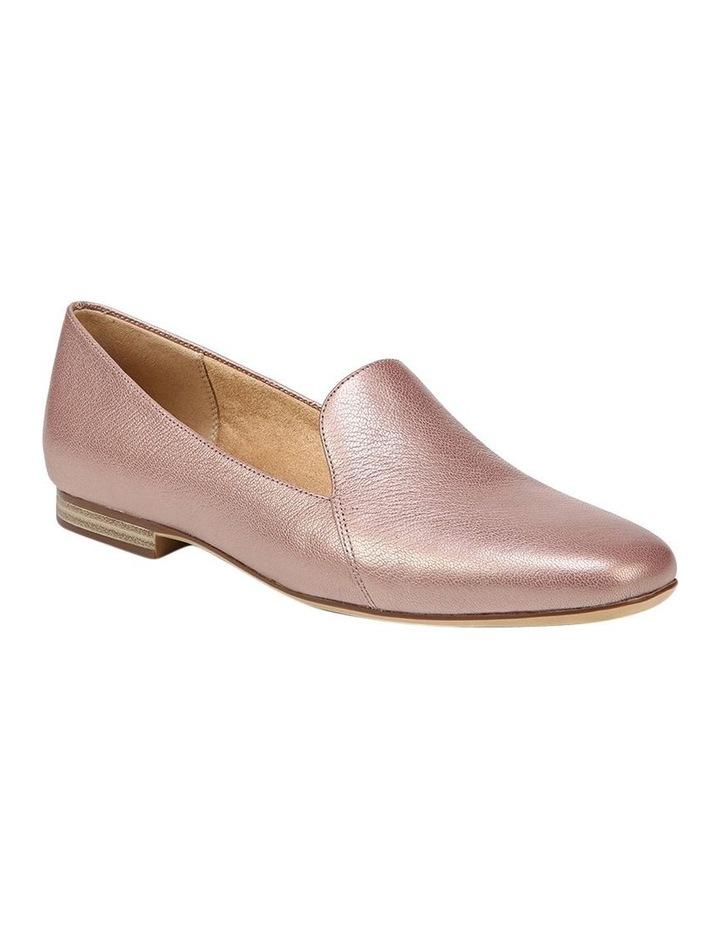 Emiline Rose Gold Sparkle Flat Shoe image 2