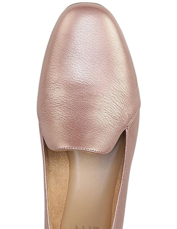 Emiline Rose Gold Sparkle Flat Shoe image 4