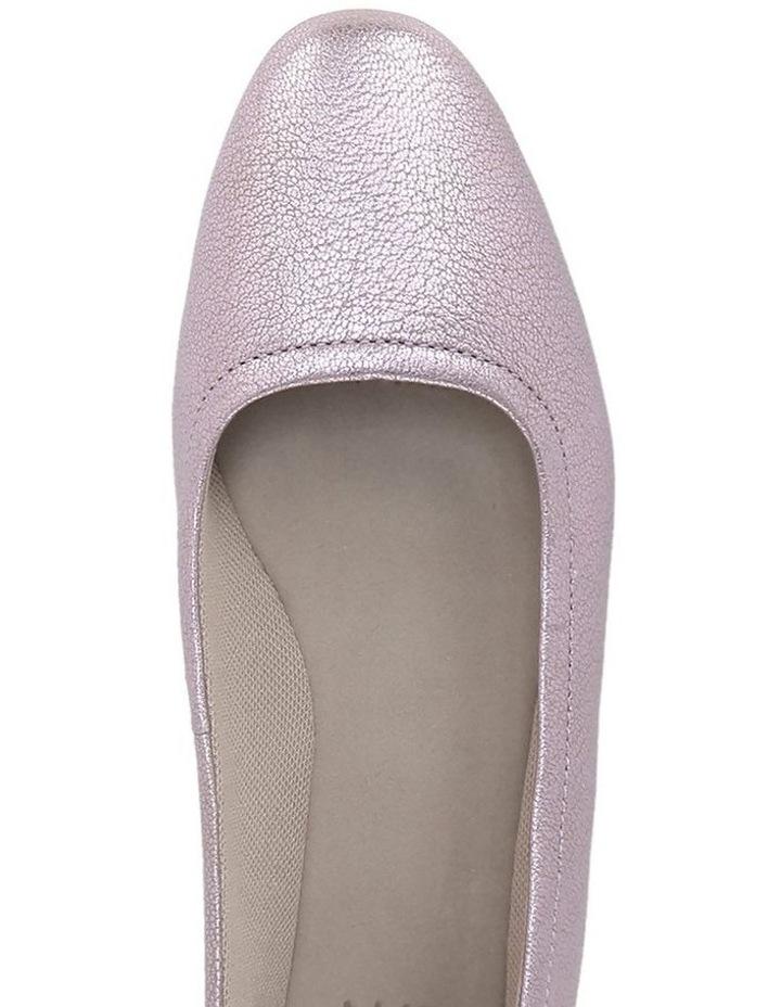 Alya Lavender Flat Shoes image 4