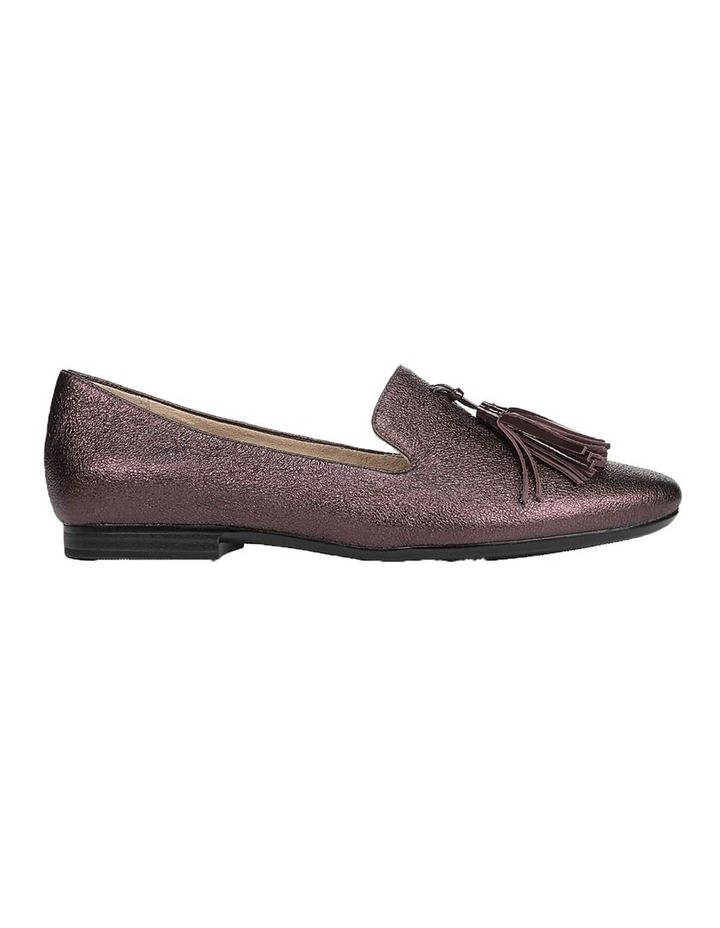 Elly Bordo Sparkle Flat Shoes image 1