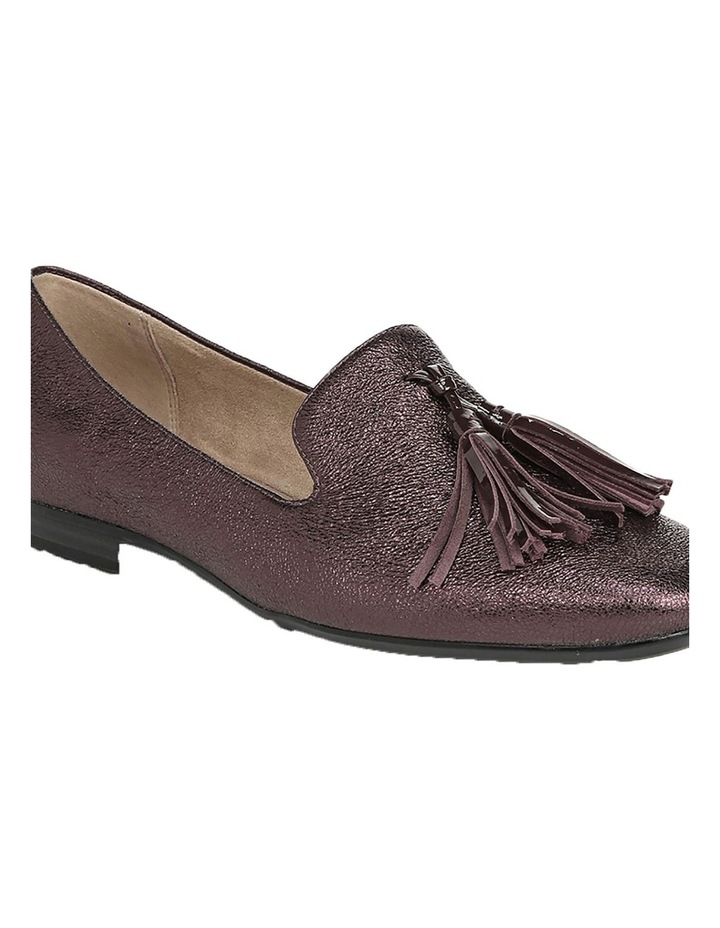 Elly Bordo Sparkle Flat Shoes image 2