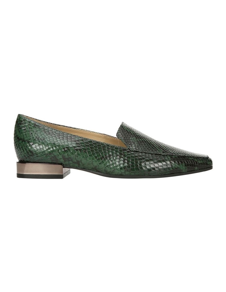 Clea Green Snake Flat Shoe image 1