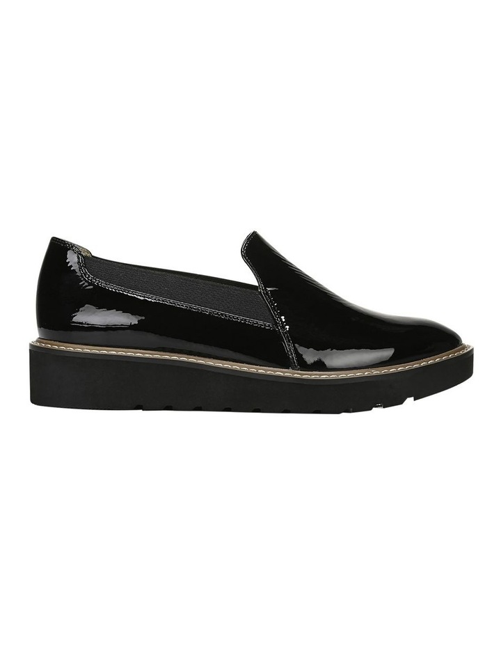 Adra Black Flat Shoe image 1