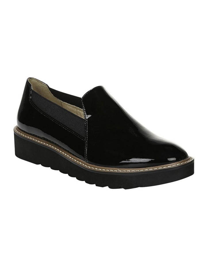 Adra Black Flat Shoe image 2