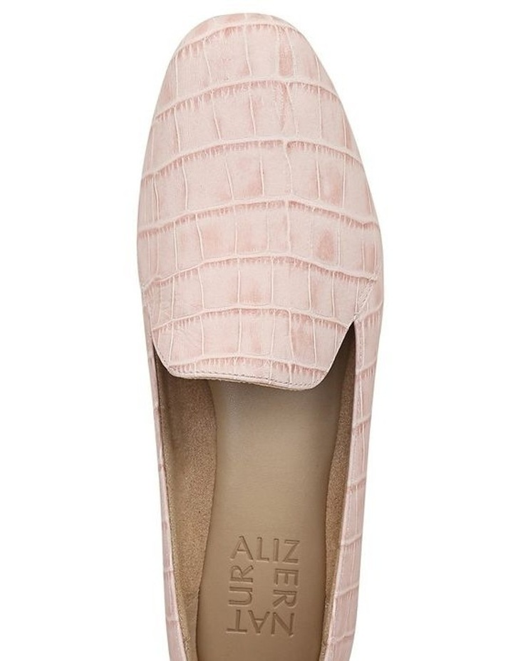 Emiline Flat Shoe Rose Croc image 4