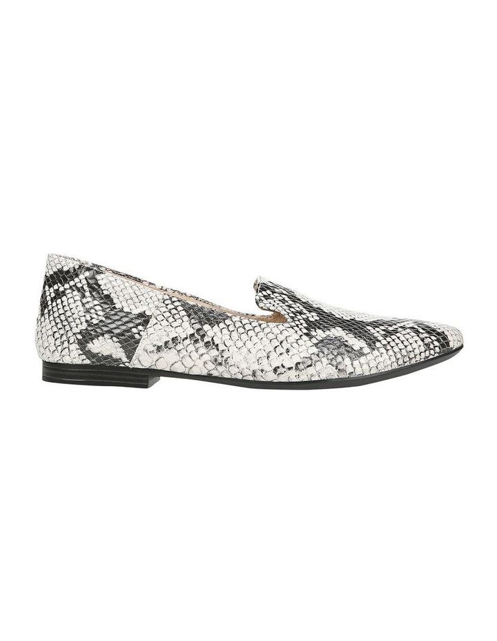 Lorna Flat Shoe Black/White Snk image 1