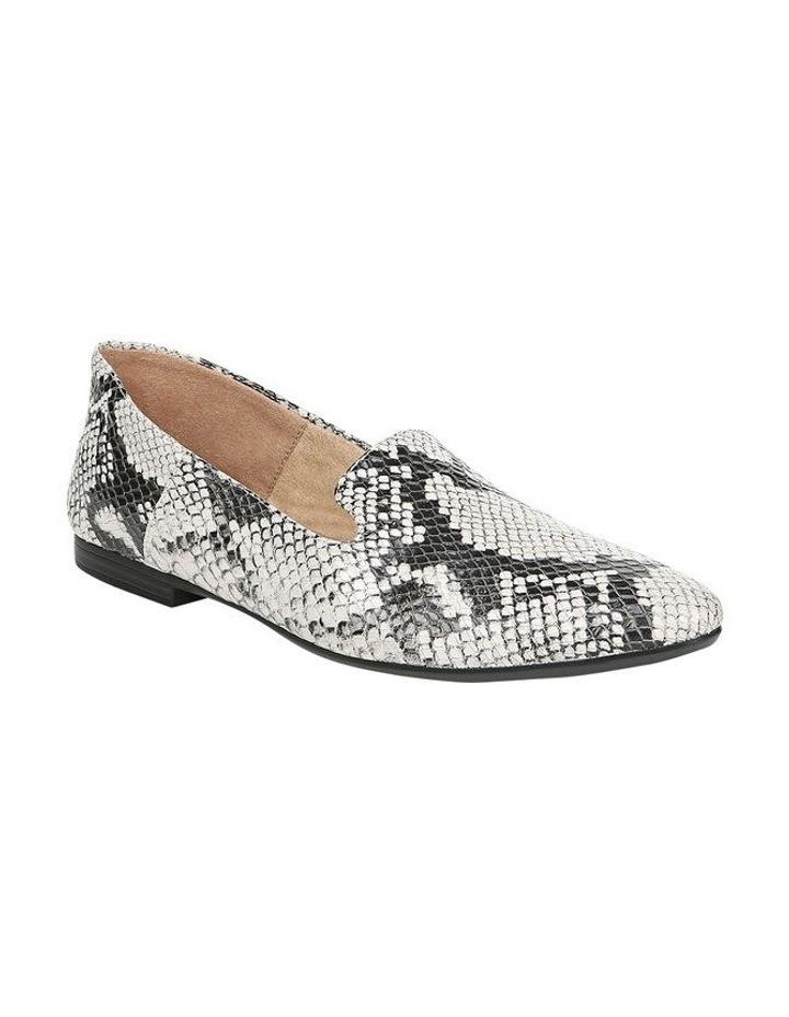 Lorna Flat Shoe Black/White Snk image 2