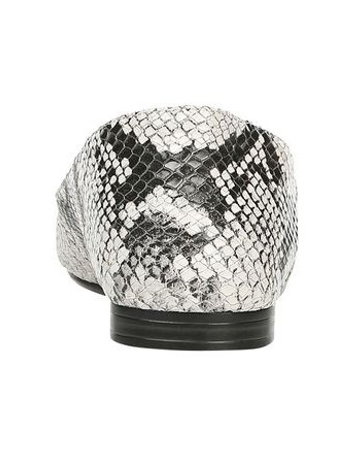 Lorna Flat Shoe Black/White Snk image 3