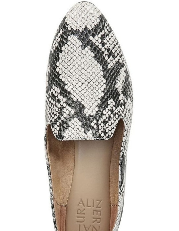 Lorna Flat Shoe Black/White Snk image 4