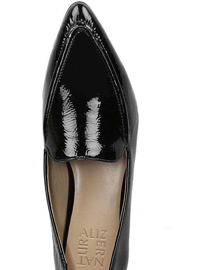 Haines Black Patent Flat Shoe image 4